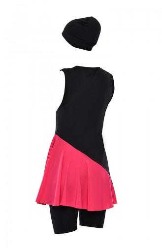 Black Swimsuit Hijab 278-03