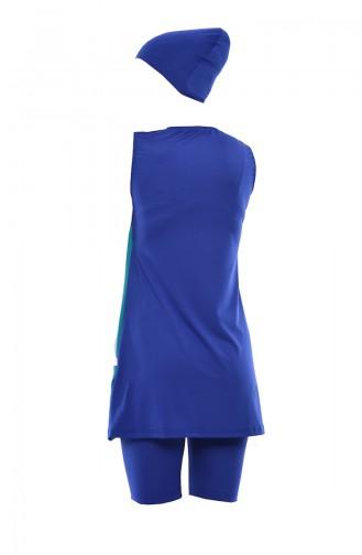ملابس السباحة أزرق 346-01