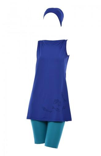 ملابس السباحة أزرق 402-01