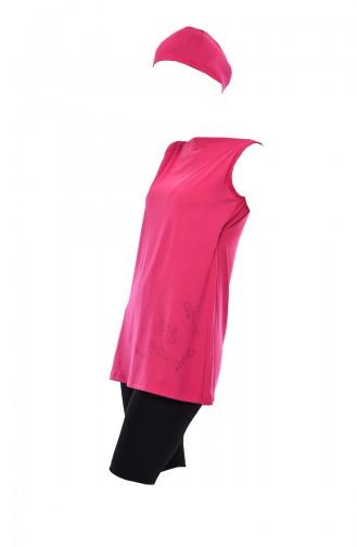 ملابس السباحة فوشيا 402-03