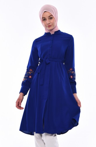 Sleeve Embroidery Tunic 1380-02 Saks 1380-02