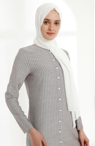 Robe Hijab Bordeaux 5017-03