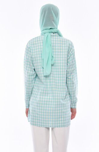 Mint green Tuniek 6133-02