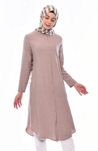 ad877c622667d Sade Tunik Modelleri ve Fiyatları-Tesettür Giyim-Sefamerve