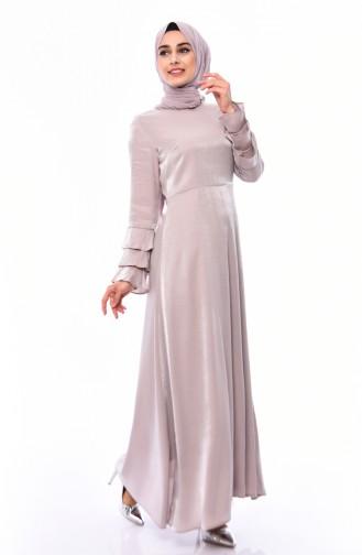 Nerz Hijap Kleider 8165-03