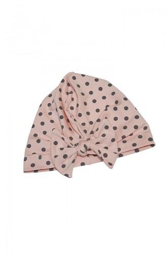 Babygiz Polka Dot Bonnet BCB019 Puder 019