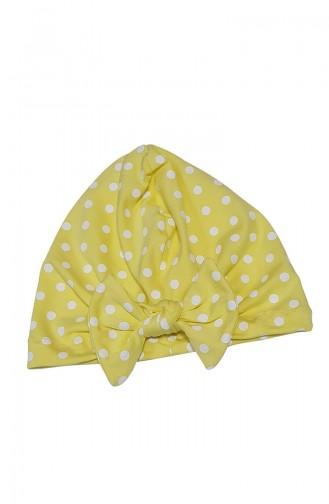 Babygiz Polka Dot Bonnet BCB021 Gelb 021