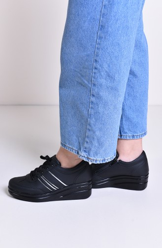 Black Sport Shoes 0101
