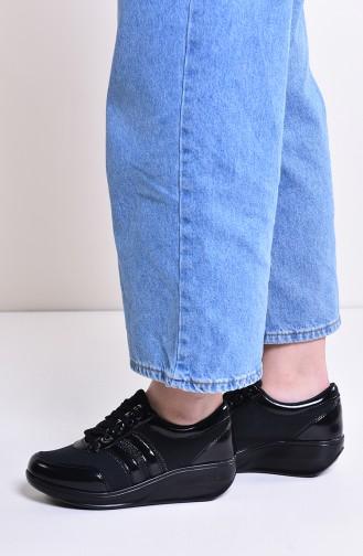 Black Sport Shoes 0116-04