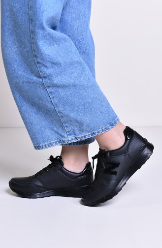 ALLFORCE Women´s Sports Shoes 0777 Black Patent Leather 0777