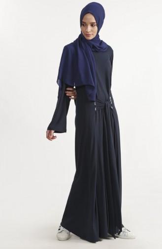 Robe Simple 1280-01 Bleu Marine 1280-01