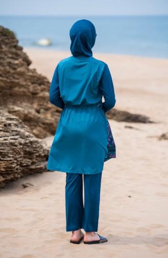 ملابس سباحة 281-02 لون زيتي 281-02