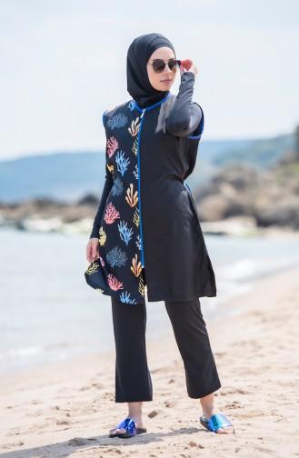 8864f54d27 Modèles de Maillot de Bain Hijab - Sefamerve | Sefamerve