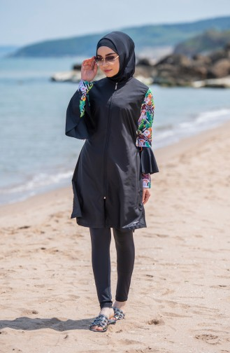 Hijab Swimsuit 316-01 Black 316-01