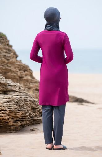 Hijab Swimsuit 6044-05 Plum 6044-05