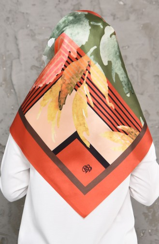Taffet Kopftuch 95274-05 Orange 95274-05