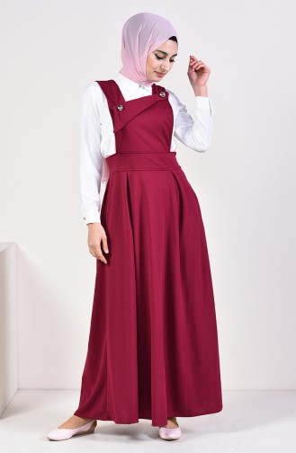 Salopette Gilet Dress 5514-07 Plum 5514-07