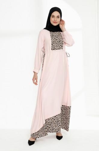 Robe Hijab Poudre 3083-02