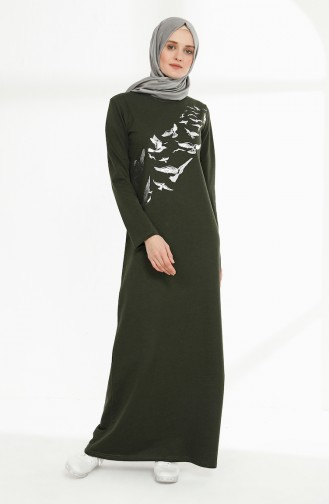 Robe Hijab Khaki 5010-13