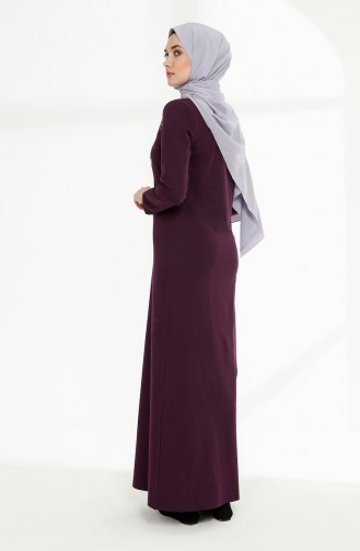 Lila Hijap Kleider 5010-14