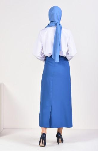 Indigo Skirt 0412-04