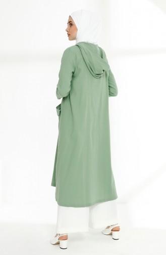Nefti Grüne Farbe Cape 9018-10