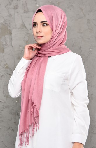 Plain Pashmina Shawl 901472-05 Powder 901472-05