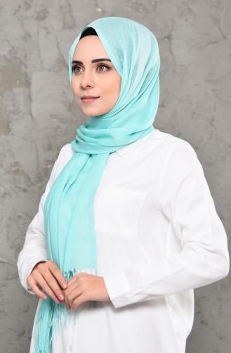 Plain Pashmina Shawl 901472-11 Mint Green 901472-11