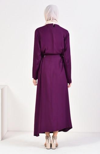Purple İslamitische Jurk 5181-02