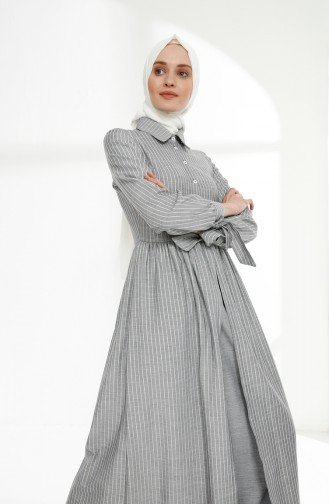 Robe Hijab Bleu Marine 9015-02
