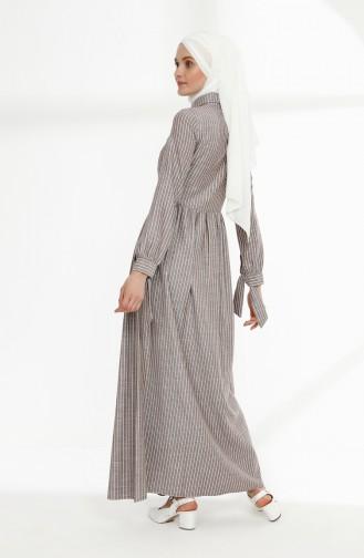 Robe Hijab Bordeaux 9015-05