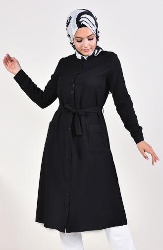Buttoned intermediate Size Tunic 1934-06 Black 1934-06