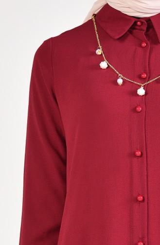 Necklace Tunic 4165-08 Bordeaux 4165-08