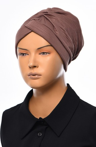 Seasonal Cross Bonnet  1037-09 Mink 1037-09