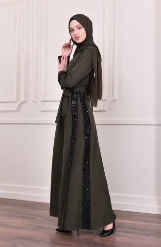 Robe Hijab Khaki 81702-04