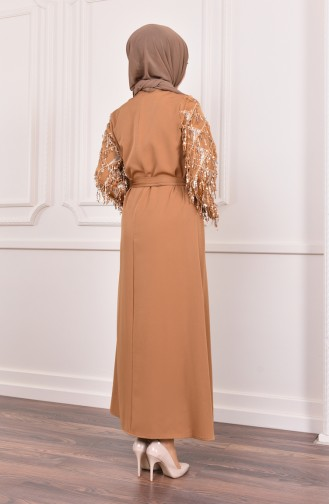 Robe Hijab Moutarde 4075-05