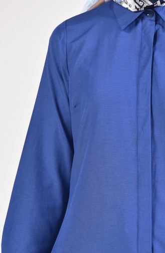 Light Navy Blue Tunic 2483-13