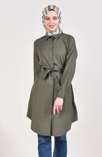 Khaki Tunic 8206-13
