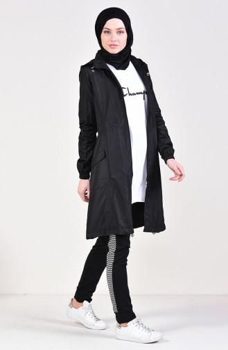 Black Raincoat 0021-07