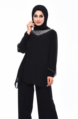Black Blouse 2220-01