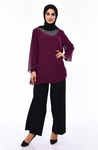 Purple Blouse 2220-02