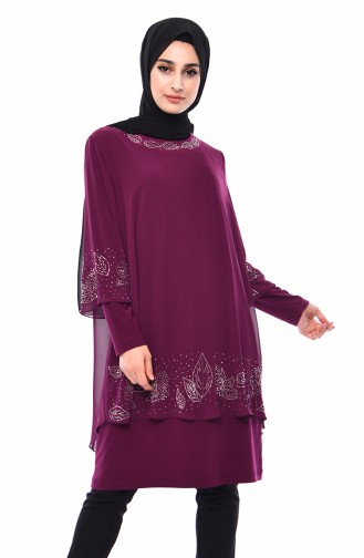 Purple Blouse 2221-02