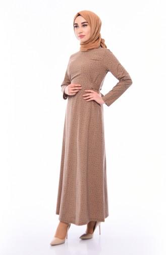 Belted Dress 1182-06 Dark ink 1182-06