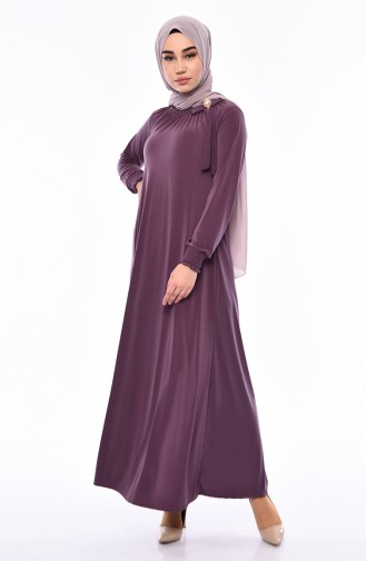 Brooch Sandy Dress 9021-01 Dark Dried Rose 9021-01
