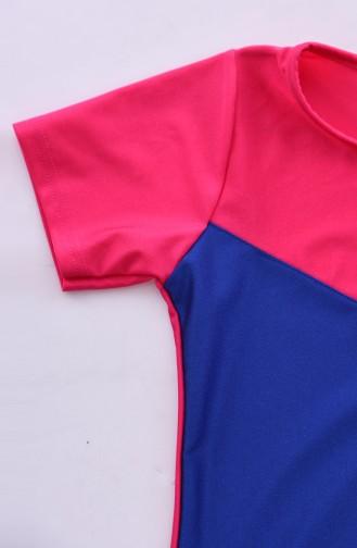Fuchsia Swimsuit Hijab 0112-02