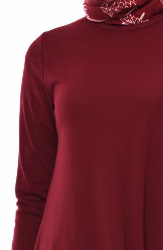 Claret red Tunic 8200-01