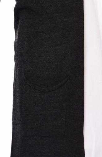 Knitwear Pocket Vest 4121-18 Anthracite 4121-18