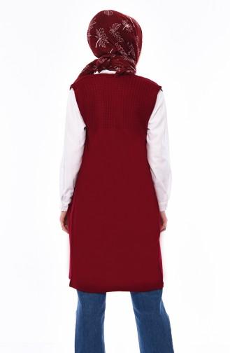 Trikot Weste mit Tasche 4121-20 Rot 4121-20
