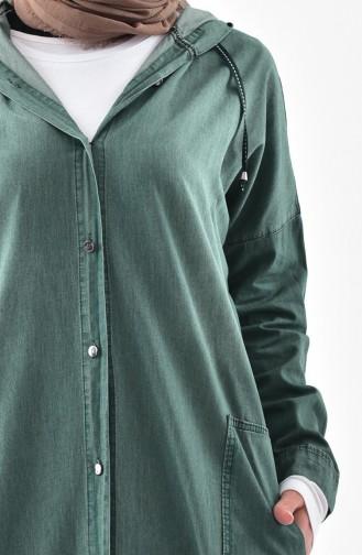 Grün Trenchcoat 4420-01