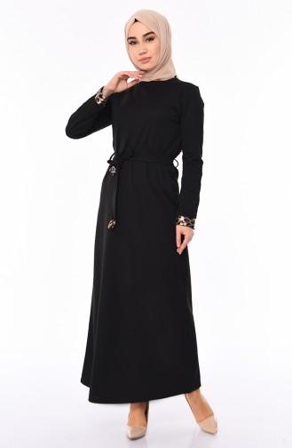 Robe Hijab Noir 4030-01